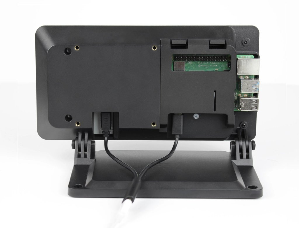 SmartiPi Touch 2 Raspberry Pi 官方7吋觸控螢幕專用外殼站立架(二代,Pi 4適用)-preview-6