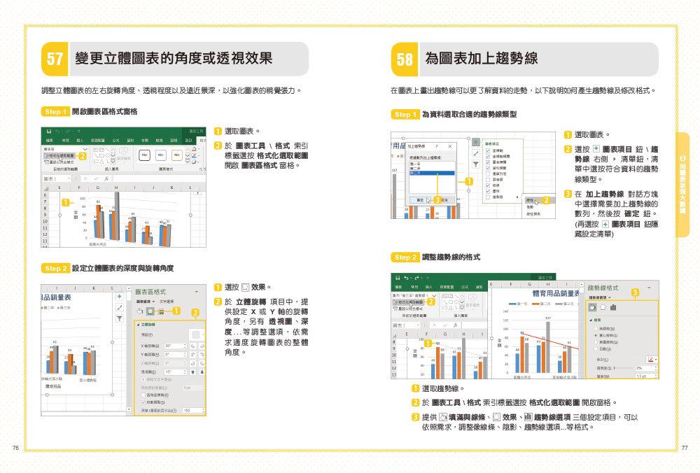 翻倍效率工作術 -- 不會就太可惜的 Excel 必學圖表, 2/e (大數據時代必備的圖表視覺分析術!)-preview-3