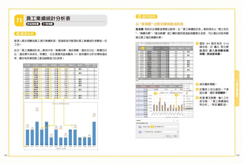 翻倍效率工作術 -- 不會就太可惜的 Excel 必學圖表, 2/e (大數據時代必備的圖表視覺分析術!)-preview-7