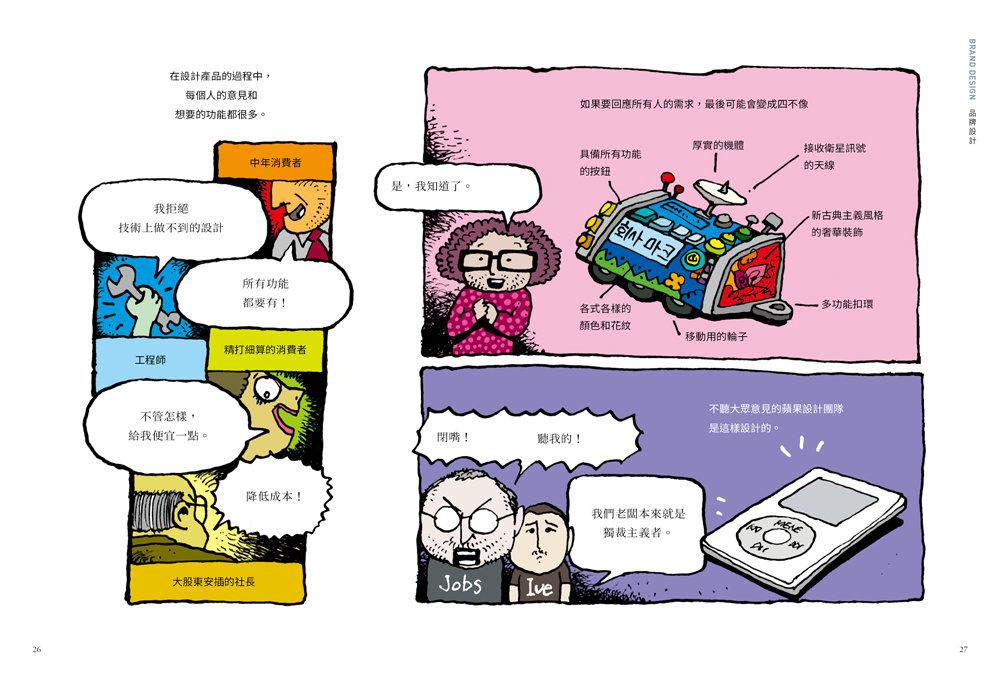 看漫畫學設計:經典品牌與設計大師-preview-1
