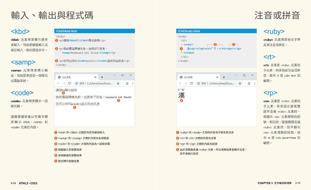 設計師一定要學的 HTML5‧CSS3 網頁設計手冊 - 零基礎也能看得懂、學得會-preview-2