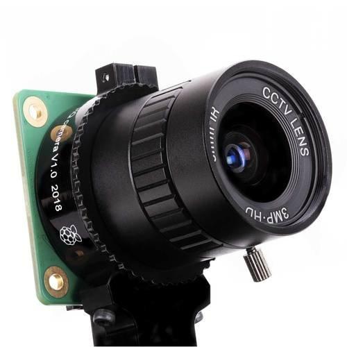 Raspberry Pi High Quality Camera 高畫質相機模組(含6mm廣角鏡頭 + 16mm 長焦段鏡頭)-preview-3