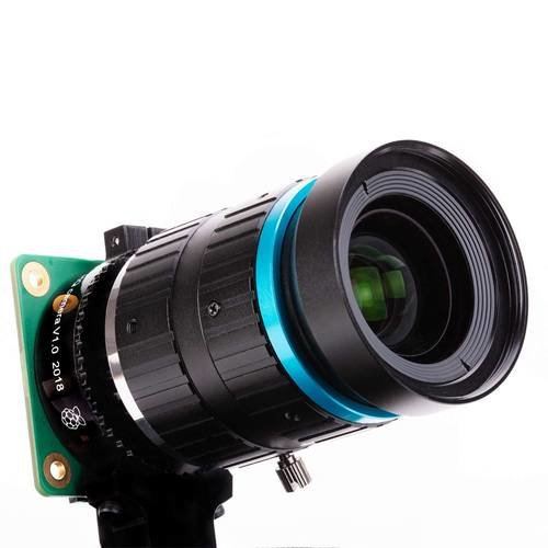 Raspberry Pi High Quality Camera 高畫質相機模組(含6mm廣角鏡頭 + 16mm 長焦段鏡頭)-preview-4