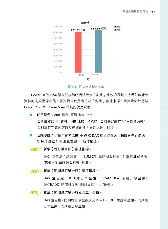 Power BI 零售大數據分析應用 -- 強化工作效率,掌握市場先機!(第二版)-preview-9