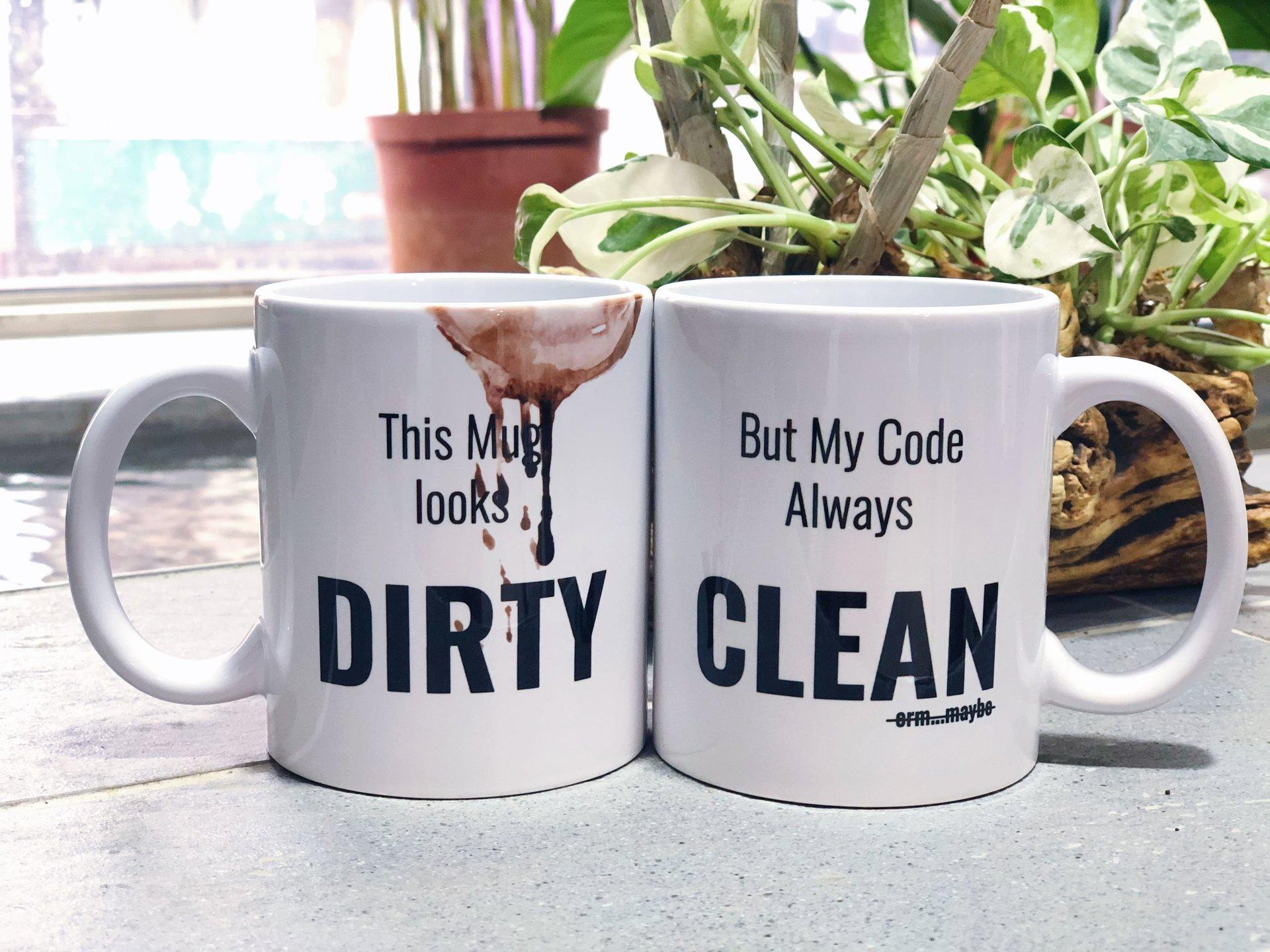 Clean Code 髒髒馬克杯-preview-1