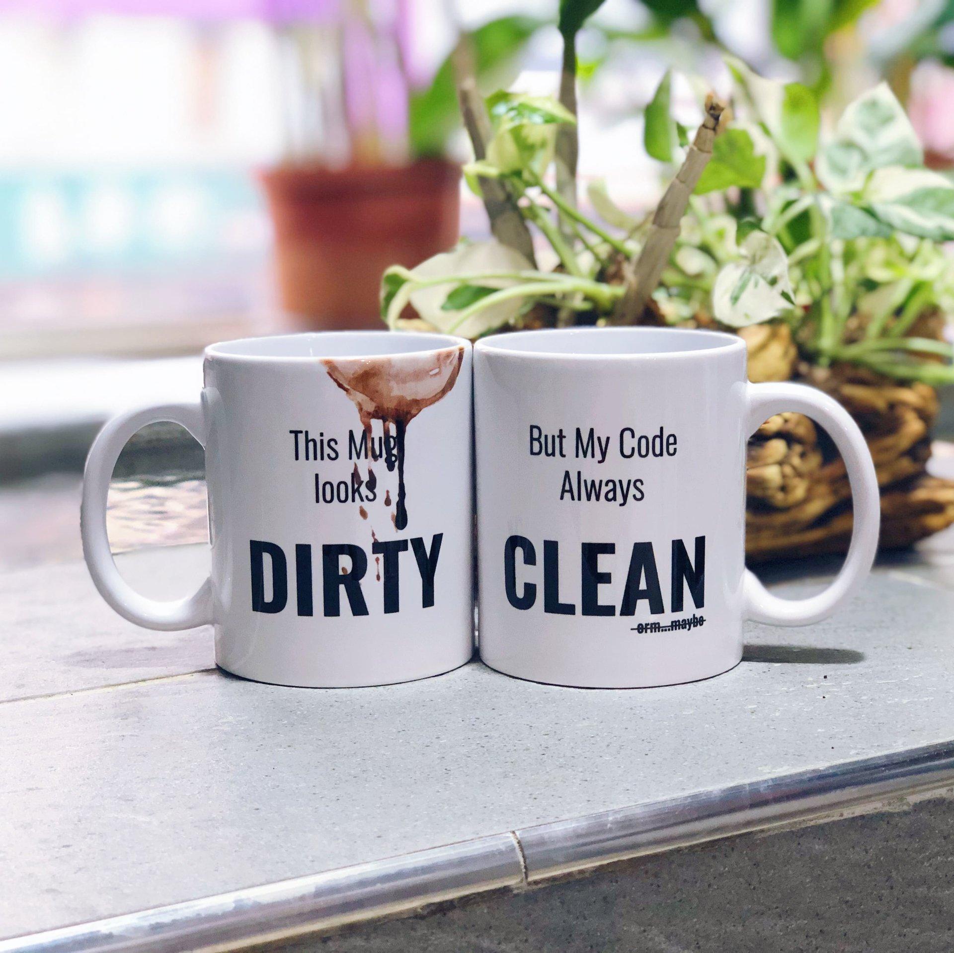 Clean Code 髒髒馬克杯-preview-2