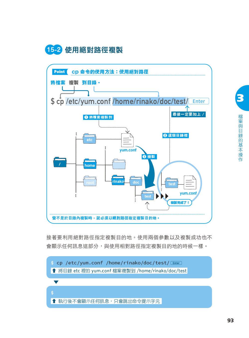 圖解 LINUX 指令操作與網路設定-preview-7