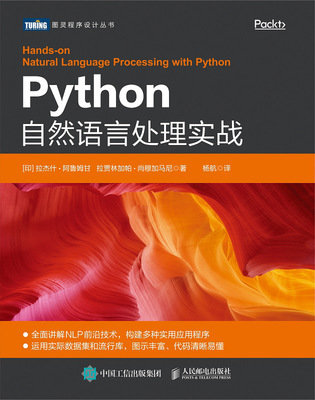 Python 自然語言處理實戰 (Hands-On Natural Language Processing with Python: A practical guide to applying deep learning architectures to your NLP applications)-preview-1