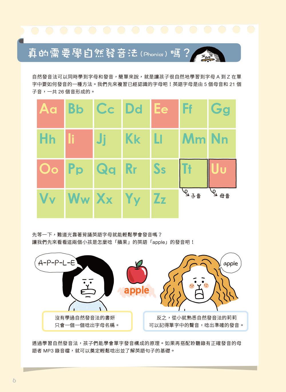 小孩的英語怎麼會那麼有趣:漫畫情境圖解單字會話自然最好記!(附練習卡、MP3 CD與QR Code)-preview-1