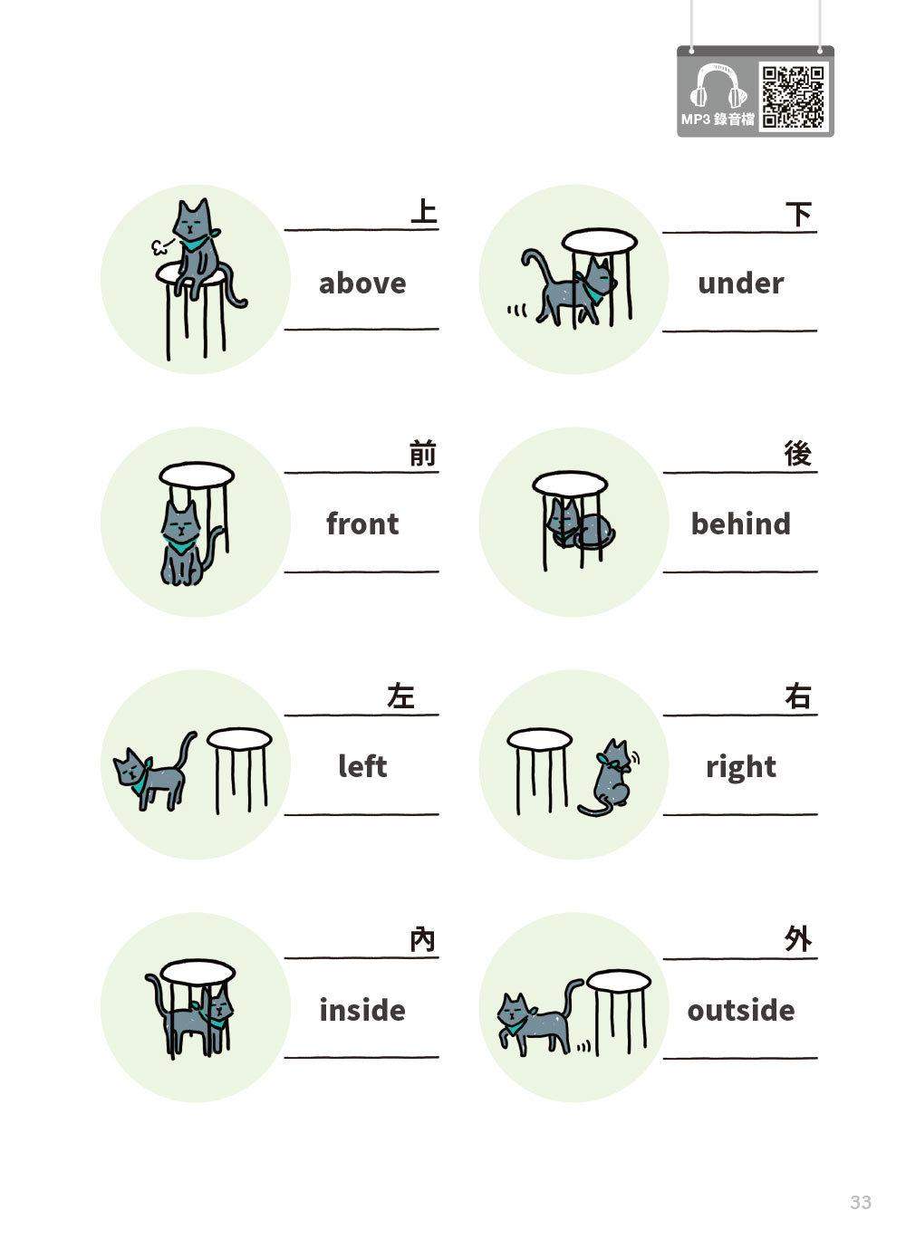 小孩的英語怎麼會那麼有趣:漫畫情境圖解單字會話自然最好記!(附練習卡、MP3 CD與QR Code)-preview-4