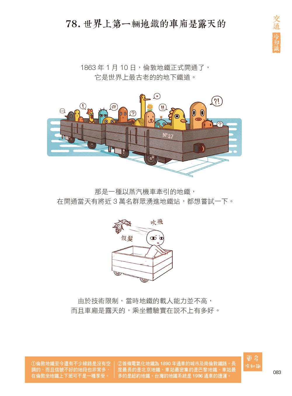漫畫科普冷知識王2:世界其實很有趣,生活應該多一點療癒!-preview-8