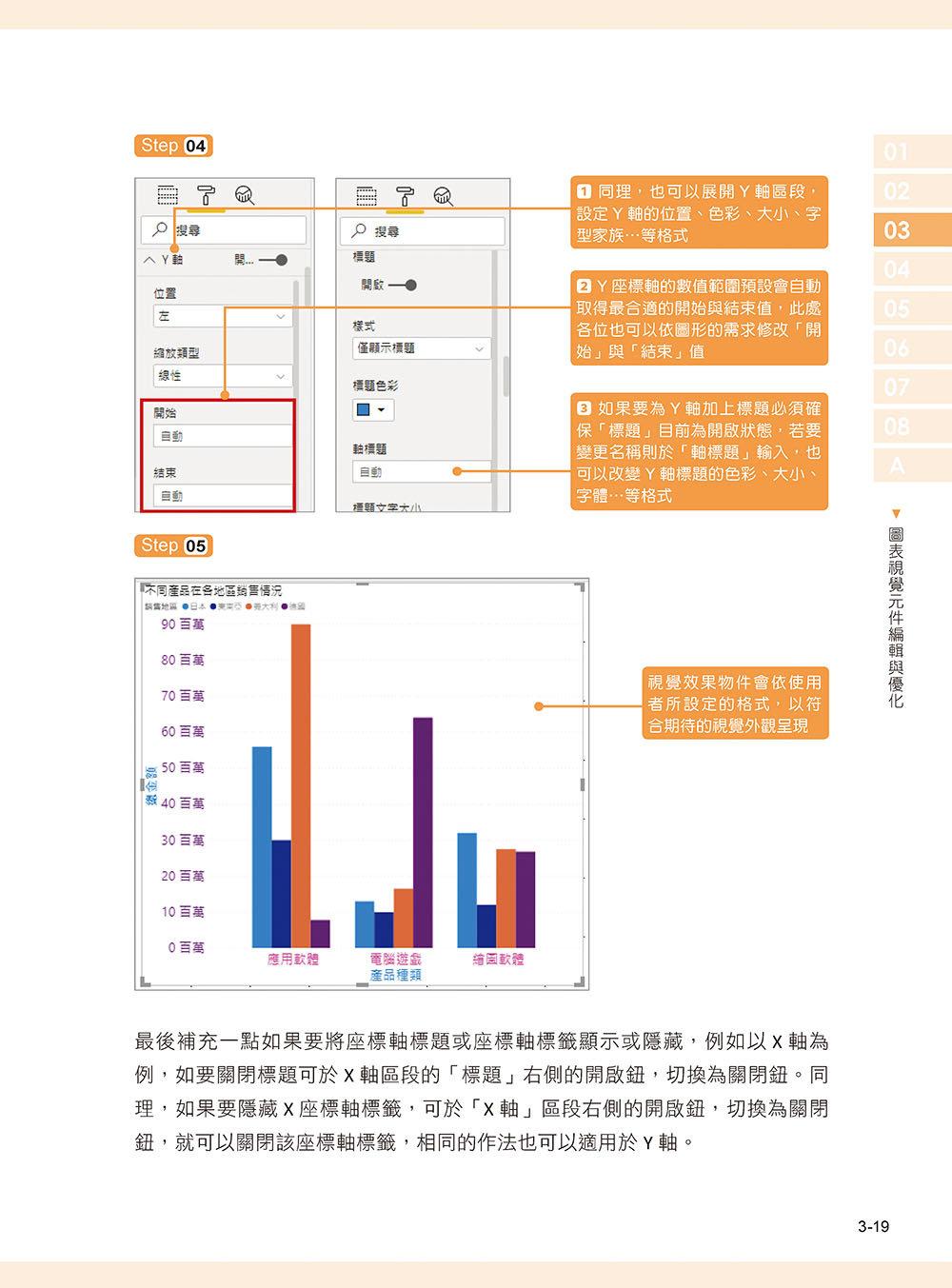 Power BI 實作大數據篩選分析與商業圖表設計-preview-4