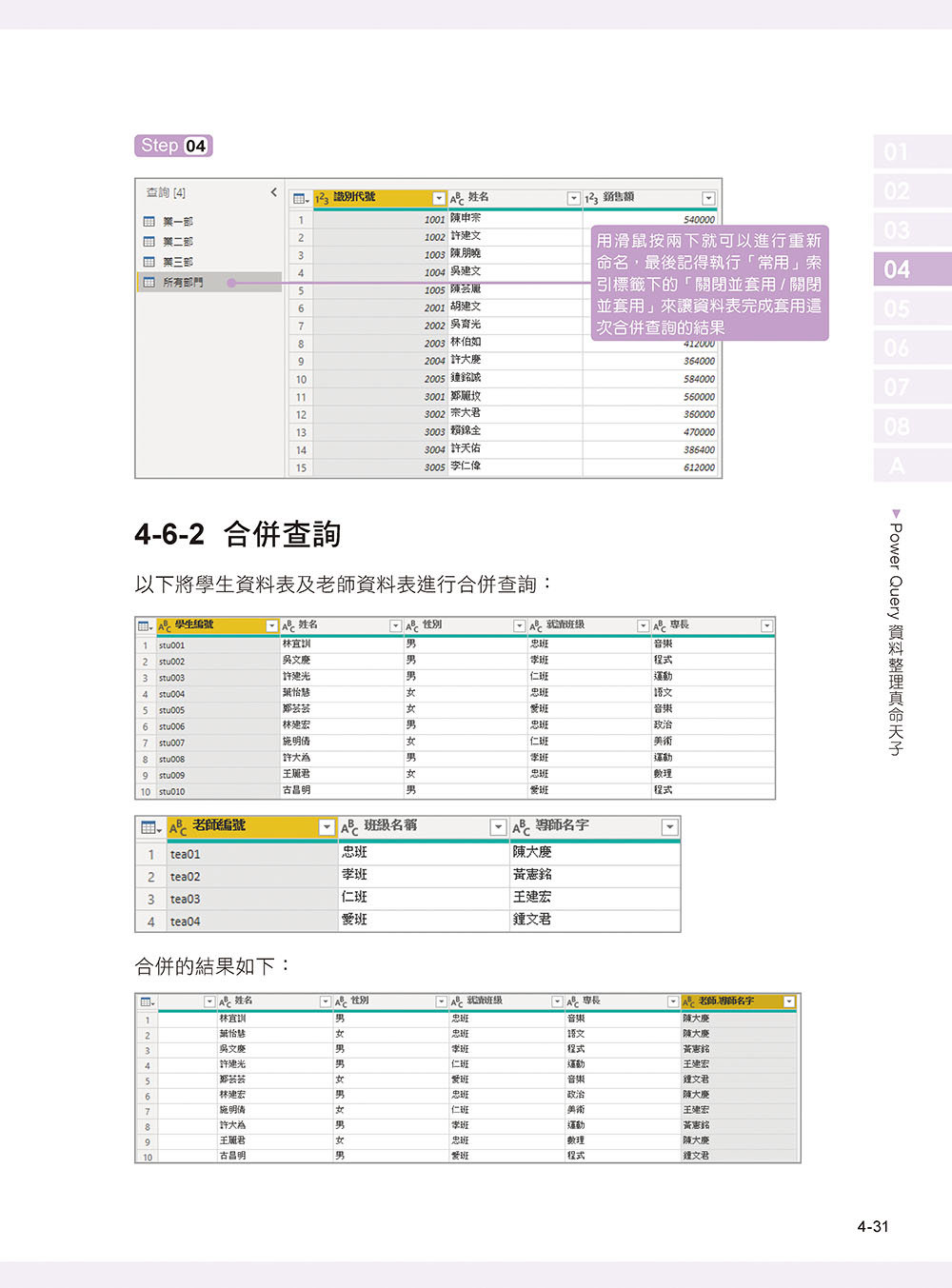 Power BI 實作大數據篩選分析與商業圖表設計-preview-8
