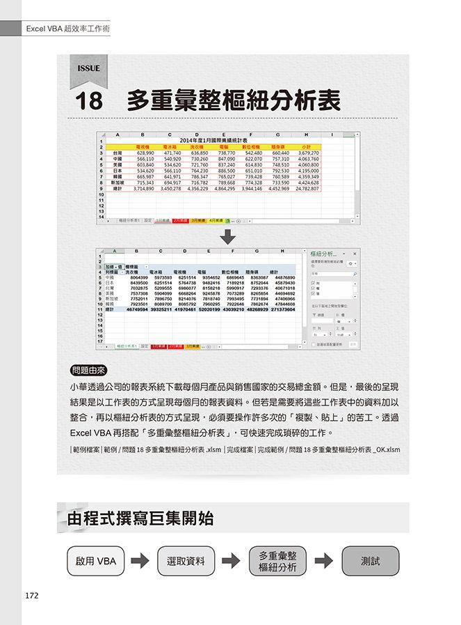 Excel VBA 超效率工作術:無痛學習 VBA 程式&即學即用!200個活用範例集讓你輕鬆上手, 2/e-preview-10