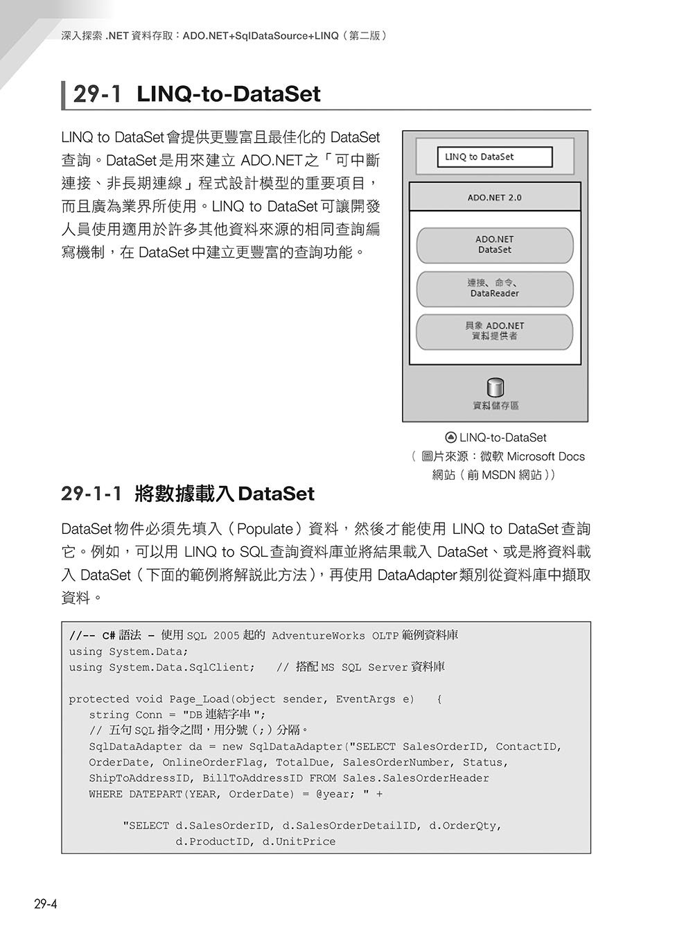 深入探索 .NET 資料存取:ADO.NET + SqlDataSource + LINQ(第二版)-preview-10
