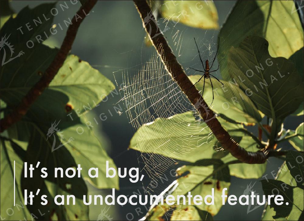 手工壁畫 Painting / It's not a bug, it's an undocumented feature / C 款 / 小-preview-1