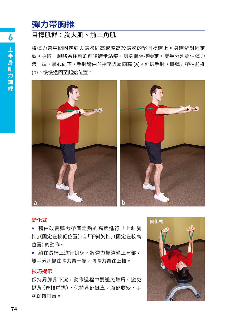 彈性阻力帶肌力訓練大全 162 式最新版 : 健身與功能性訓練、復健與預防肌少症 全適用-preview-3