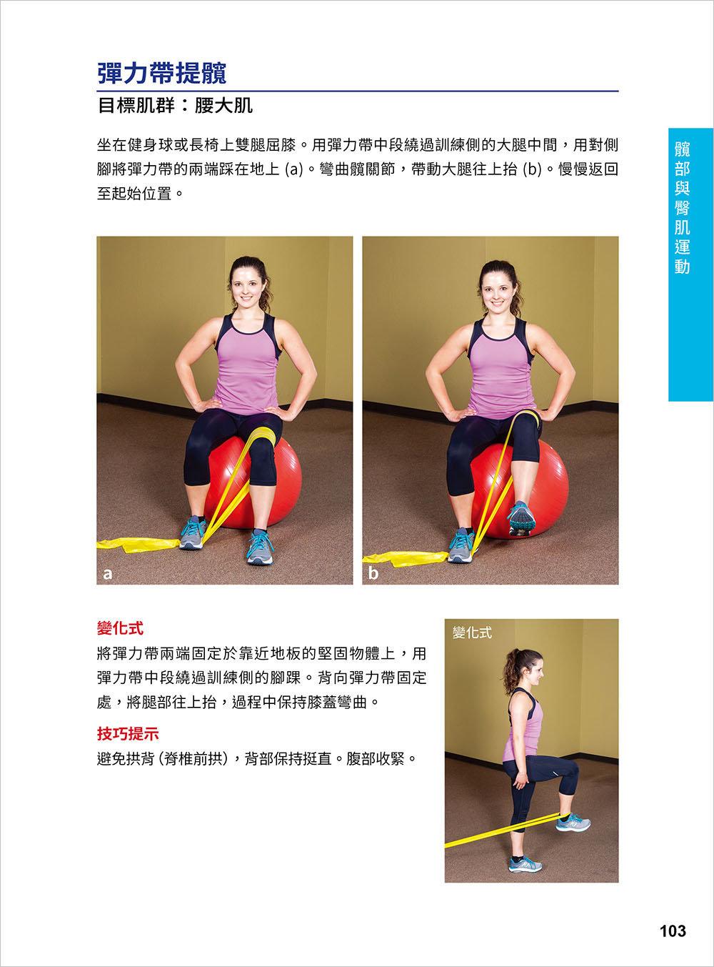 彈性阻力帶肌力訓練大全 162 式最新版 : 健身與功能性訓練、復健與預防肌少症 全適用-preview-5
