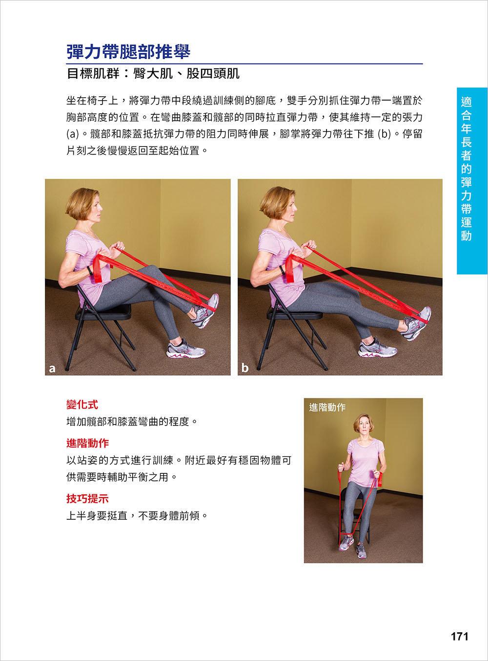 彈性阻力帶肌力訓練大全 162 式最新版 : 健身與功能性訓練、復健與預防肌少症 全適用-preview-7