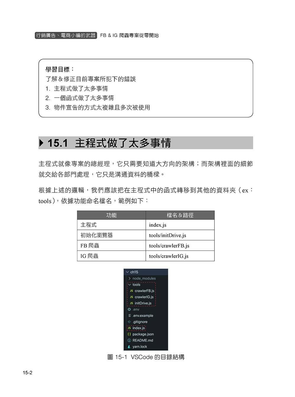 JavaScript 爬蟲新思路!從零開始帶你用 Node.js 打造 FB&IG 爬蟲專案(iT邦幫忙鐵人賽系列書)-preview-9