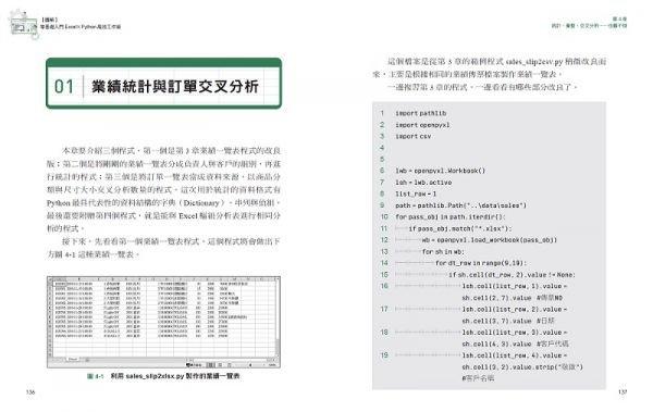 【圖解】零基礎入門Excel╳Python高效工作術:輕鬆匯入大量資料、交叉分析、繪製圖表,連PDF轉檔都能自動化處理,讓效率倍增-preview-10