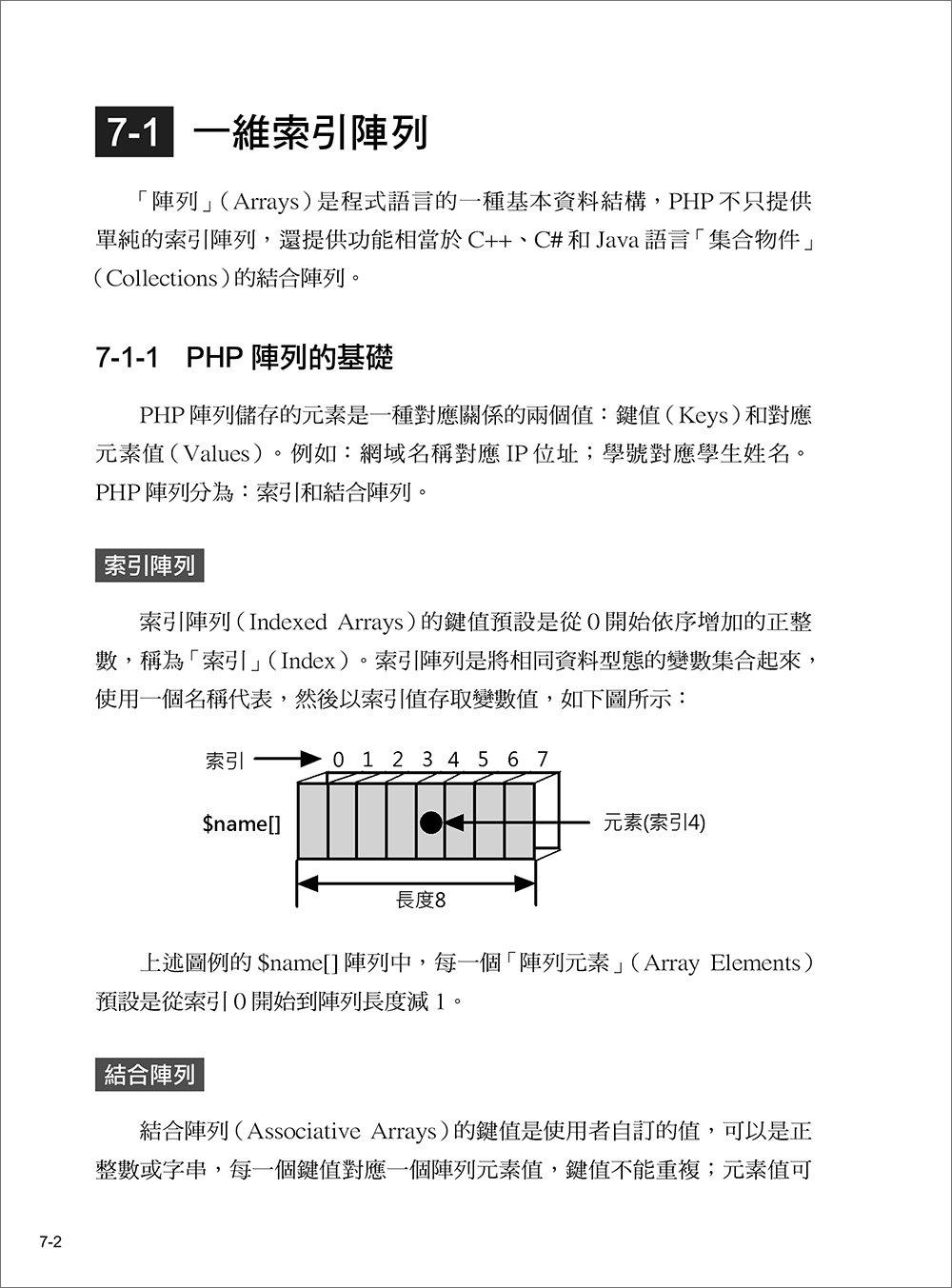 新觀念  PHP8 + MySQL + AJAX 網頁程式範例教本, 6/e-preview-6
