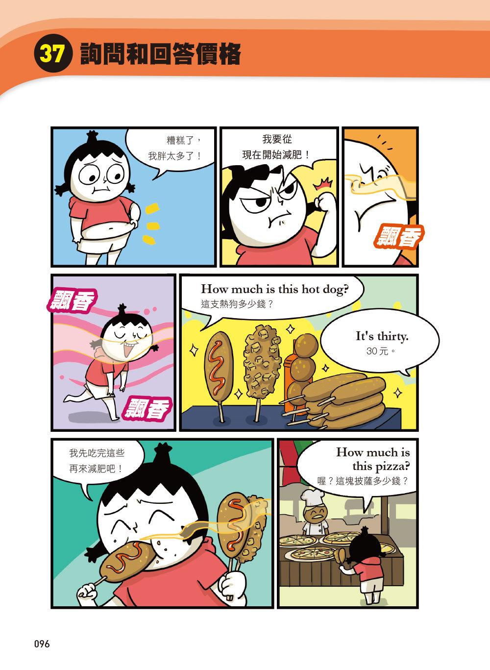 小孩漫畫英語會話表達王:80天開心之旅,就像出國一樣練英語!-preview-7