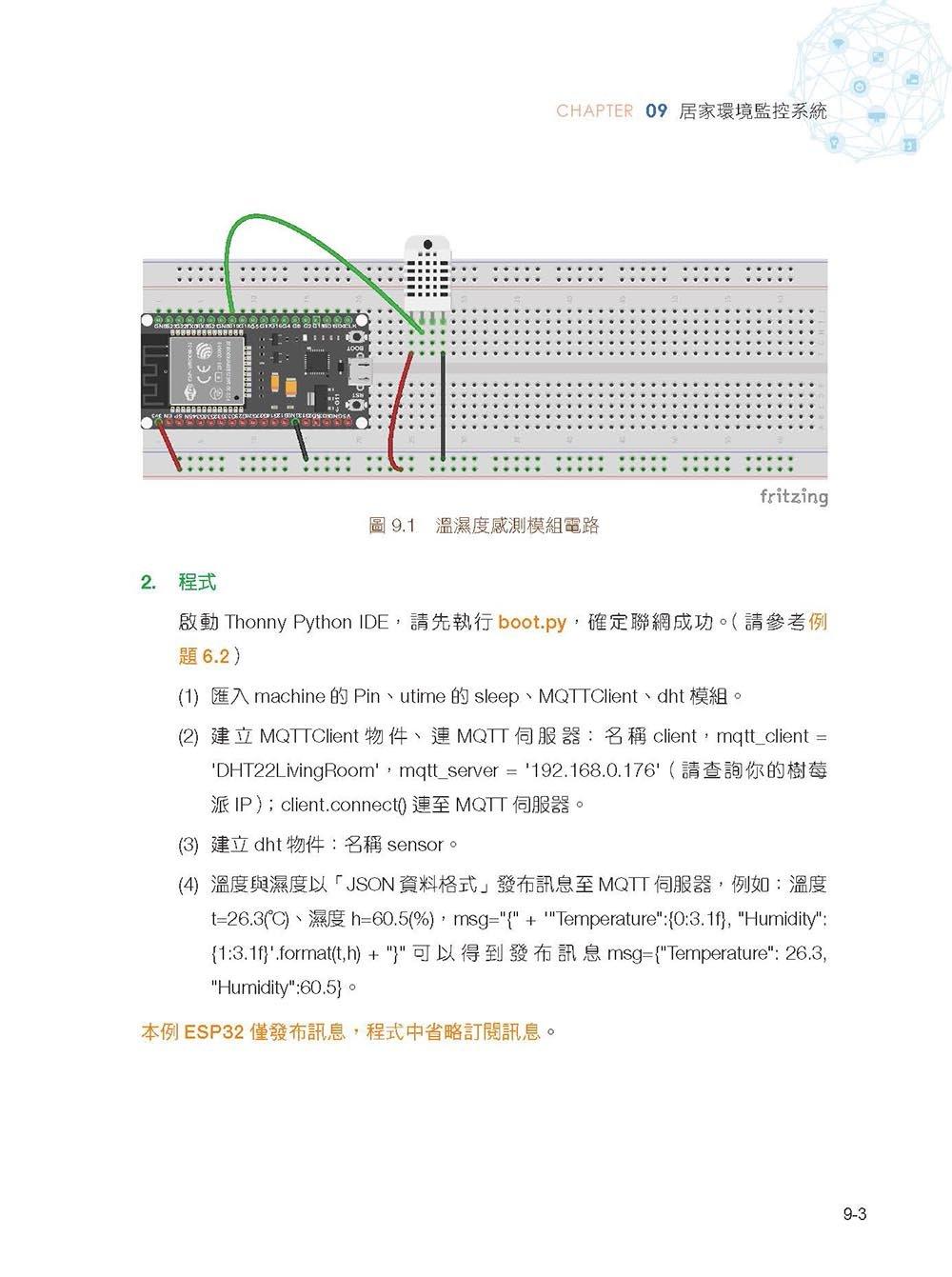 物聯網實戰(ESP32篇): 使用樹莓派/NodeMCU-32S/Python/MicroPython/Node-RED打造安全監控系統-preview-12