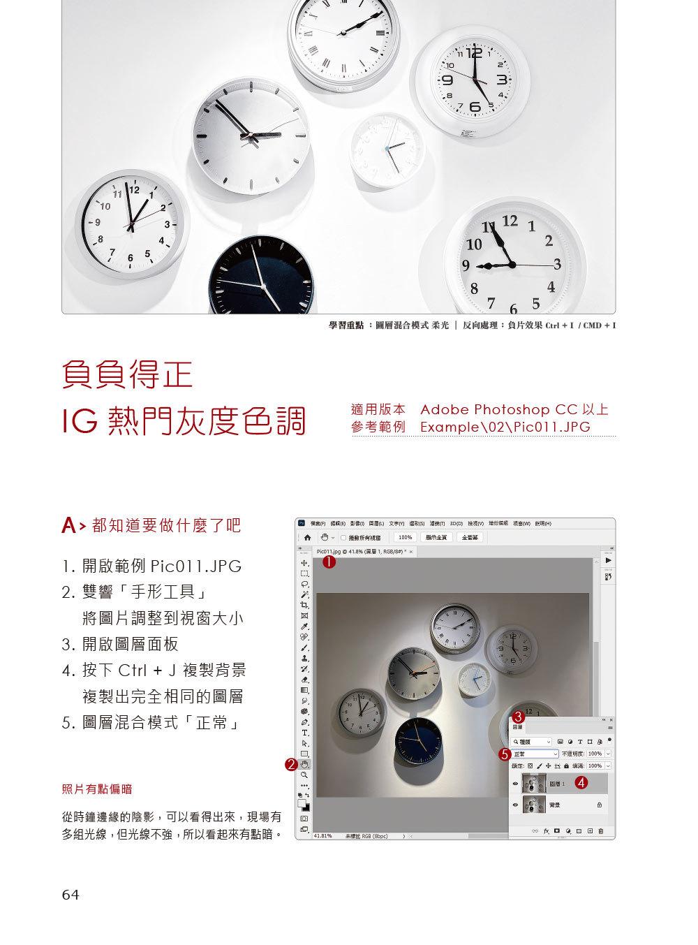我想學設計!人氣精選 Photoshop 影像編修技:工具x調色x文字x合成x廣告設計(千萬網友點擊推薦狂推必學)-preview-3