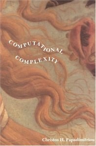 Computational Complexity (Paperback)-cover