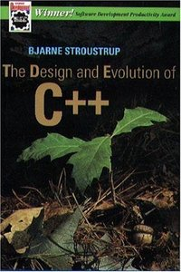 The Design and Evolution of C++ (Paperback)-cover