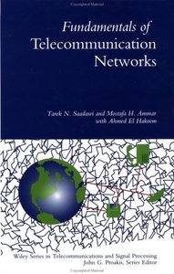 Fundamentals of Telecommunication Networks (Hardcover)-cover