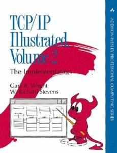 TCP/IP Illustrated, Volume 2: The Implementation (Hardcover)(出版日久遠,書側有霉斑)-cover
