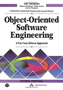 Object-Oriented Software Engineering: A Use Case Driven Approach (Hardcover)-cover