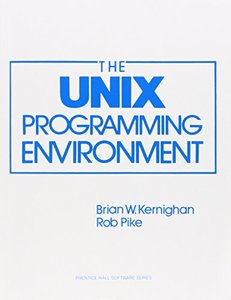 The Unix Programming Environment (Paperback)-cover