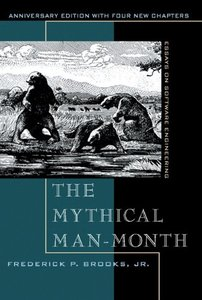 The Mythical Man-Month: Essays on Software Engineering, Anniversary Edition, 2/e (Paperback)-cover