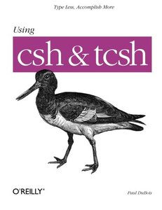 Using csh & tcsh-cover