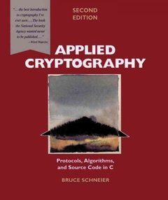 Applied Cryptography, 2/e-cover