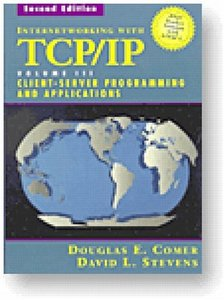 Internetworking with TCP/IP Vol. 3, Client-Server Programming and Applications (BSD Socket Version with ANSI C)-cover
