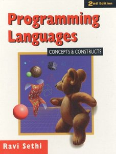 Programming Languages: Concepts and Constructs, 2/e (Paperback)-cover