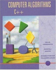 Computer Algorithms C++-cover
