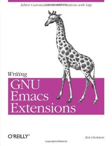 Writing GNU Emacs Extensions (Paperback)-cover
