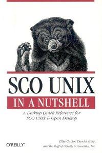 SCO UNIX in a Nutshell-cover