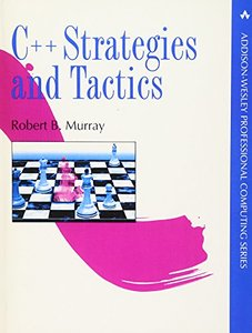 C++ Strategies and Tactics (Paperback)-cover