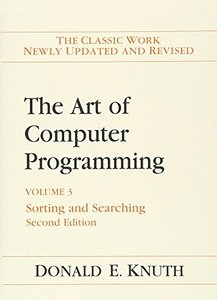 The Art of Computer Programming, Volume 3 : Sorting and Searching, 2/e (Hardcover)-cover