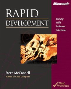 Rapid Development (Paperback)-cover