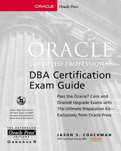 Oracle Certified Professional DBA Certification Exam Guide-cover