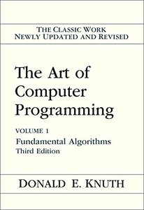 The Art of Computer Programming, Volume 1 : Fundamental Algorithms, 3/e (Hardcover)-cover