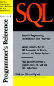 SQL Programmer's Reference-cover
