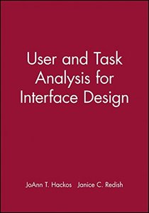 User and Task Analysis for Interface Design-cover